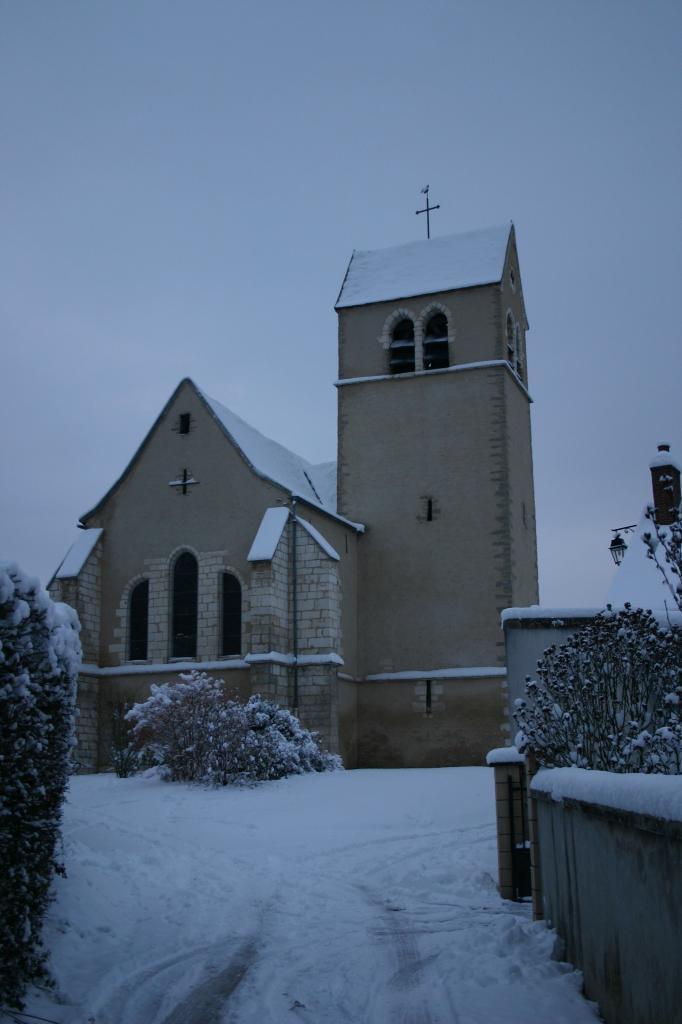 Eglise en hivers