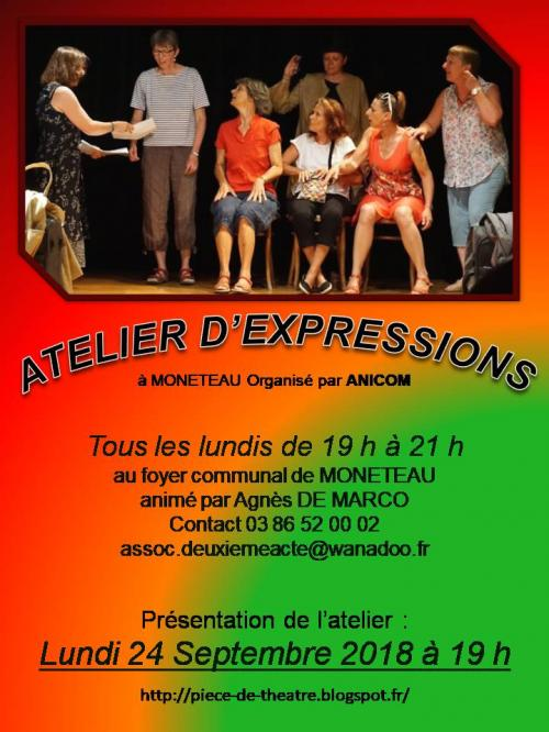Atelier expressions